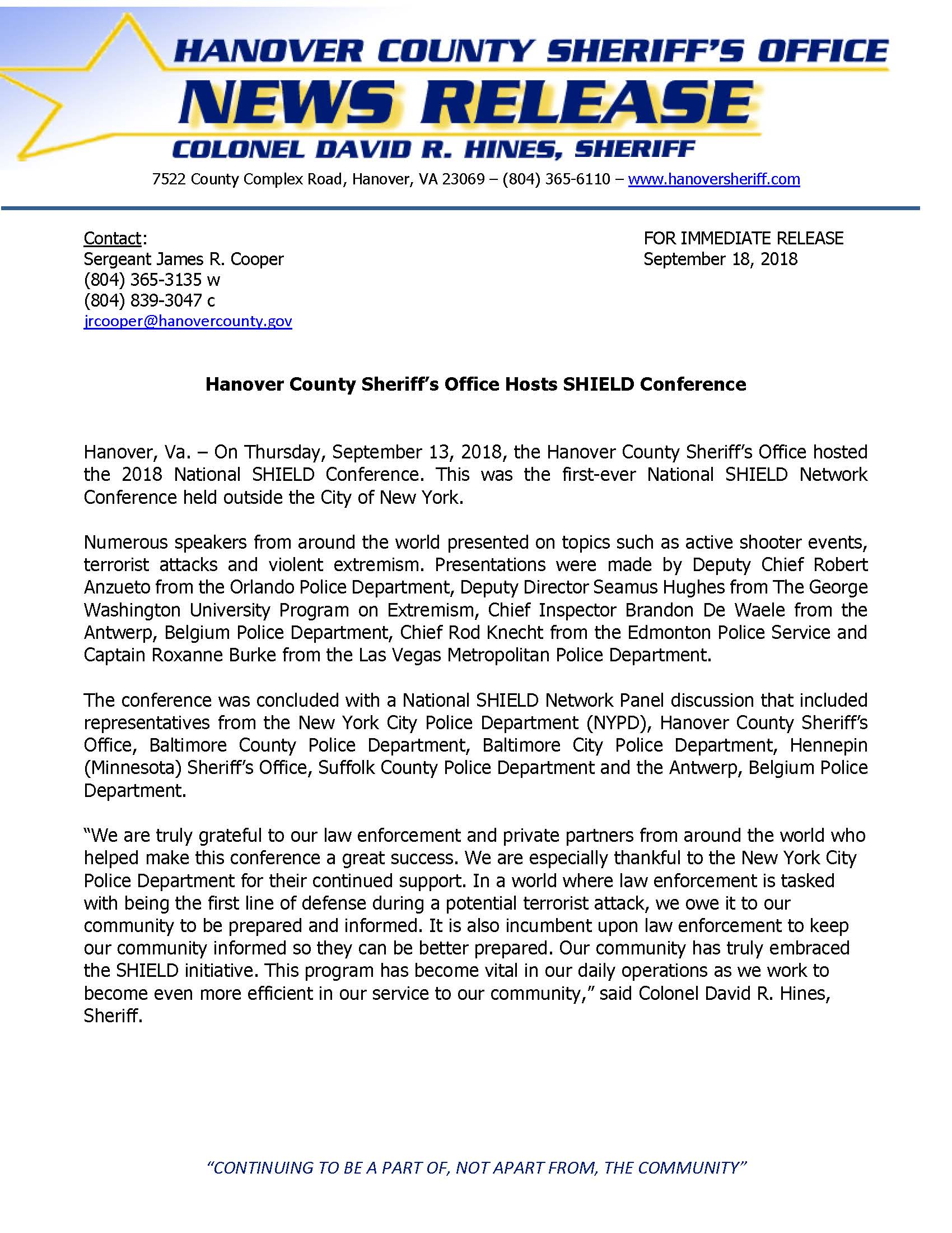 HCSO- HCSO Hosts National SHIELD Network Conference- September 2018_Page_1